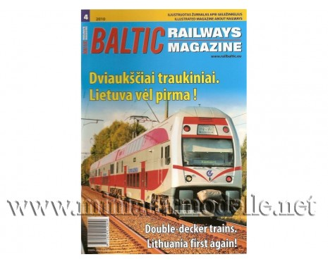Baltic Railways magazine 2010 #4