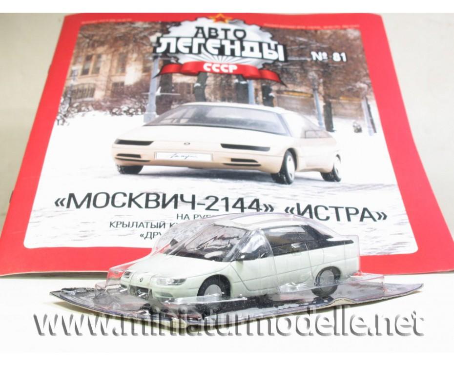 1:43 Moskwitsch 2144 ISTRA Zeitschrift #36