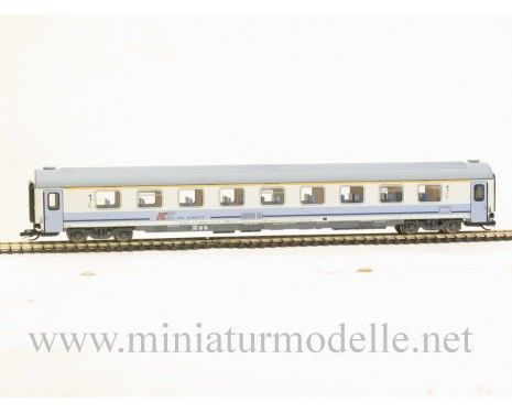 1:120 TT art. # 7676 1. Kl. Grossraumwagen grau/hellblau, PKP