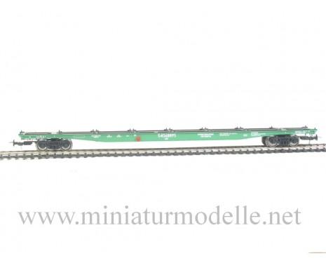 1:87 H0 Containerwagen mod. 23-469-07, grün, RZD, 5. Epoche, Kleinserie