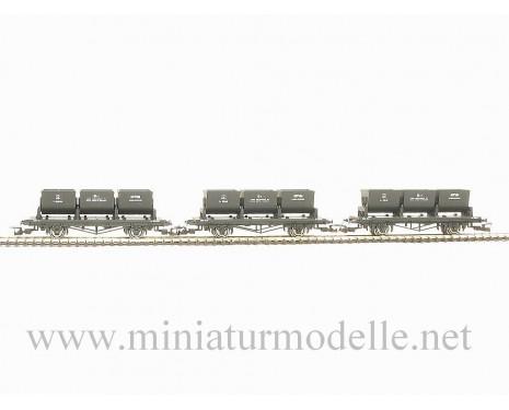 1:120 TT 3400 Bitum transport car set of the SZD livery, era 3