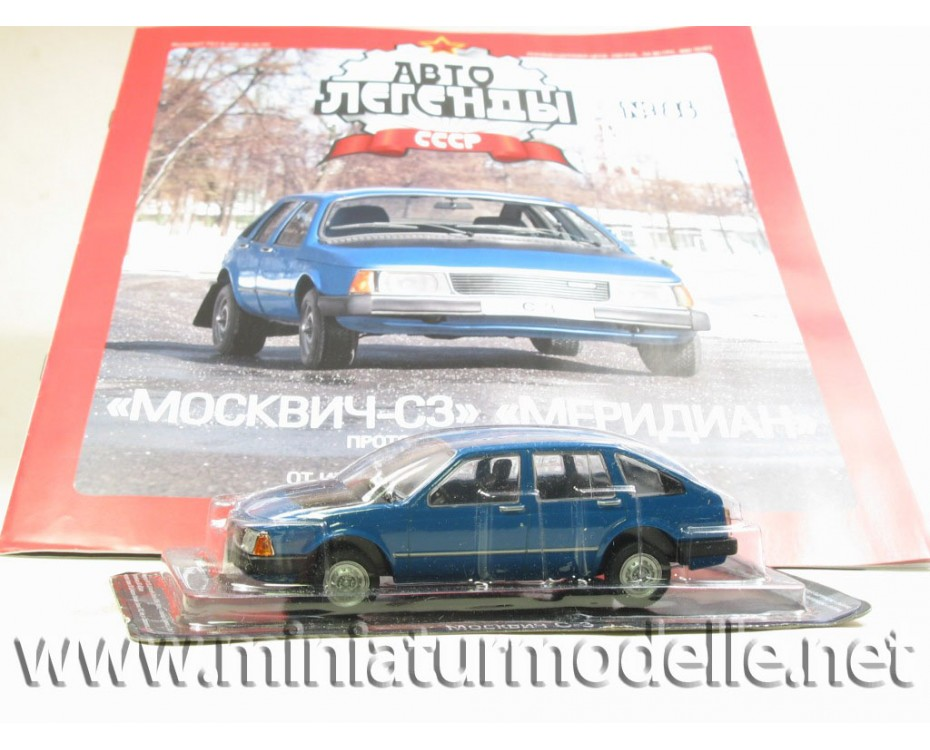 1:43 Moskvitch S-3 Meridian with magazine #84
