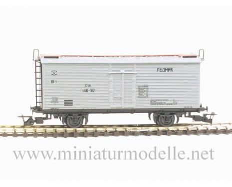 1:120 TT 3941 Refrigerator car of the SZD livery, grey, era 3