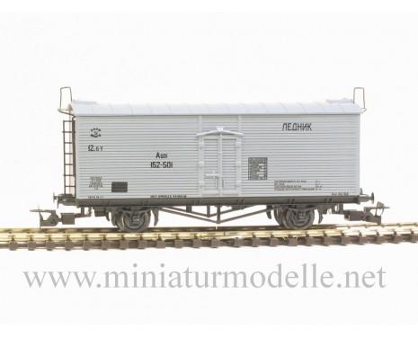 1:120 TT 3940 Eiskuhlwagen der SZD, grau, 3. Epoche