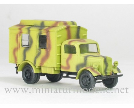 H0 1:87 MB L 3000 transmitting station, camouflage military