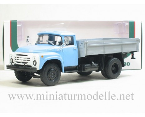 1:43 ZIL 130-76 later open side, blue/grey civil