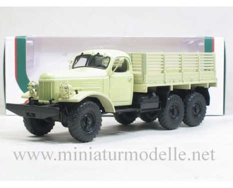 1:43 ZIL 157 open side military beige