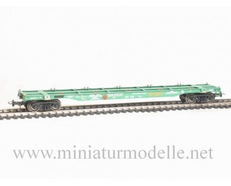 1:87 H0 Containerwagen mod. 13-1223, grün, RZD, 5. Epoche, Kleinserie