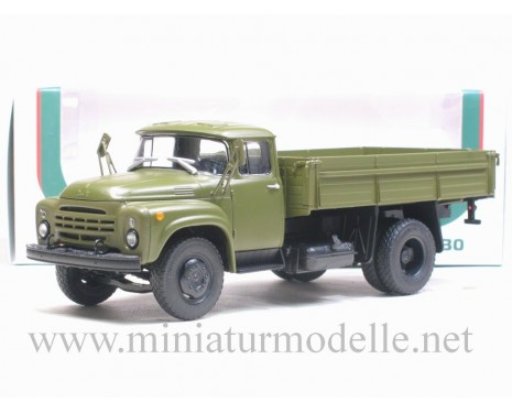 1:43 ZIL 130-76 later open side, military