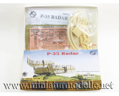 H0 1:87 P-35 Radar military, small batches model