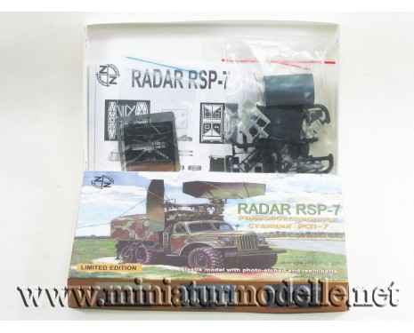 H0 1:87 ZIL 157 with radar RSP-7, military, small batches model