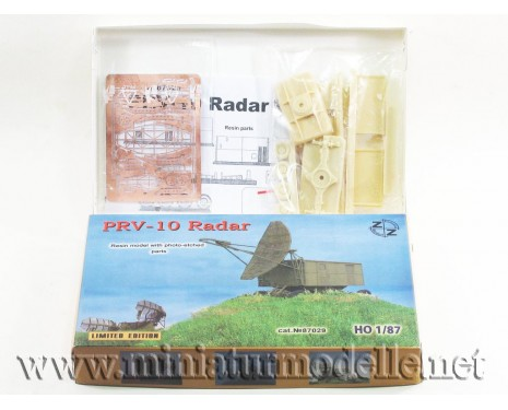H0 1:87 PRV-10 Radar military, small batches model