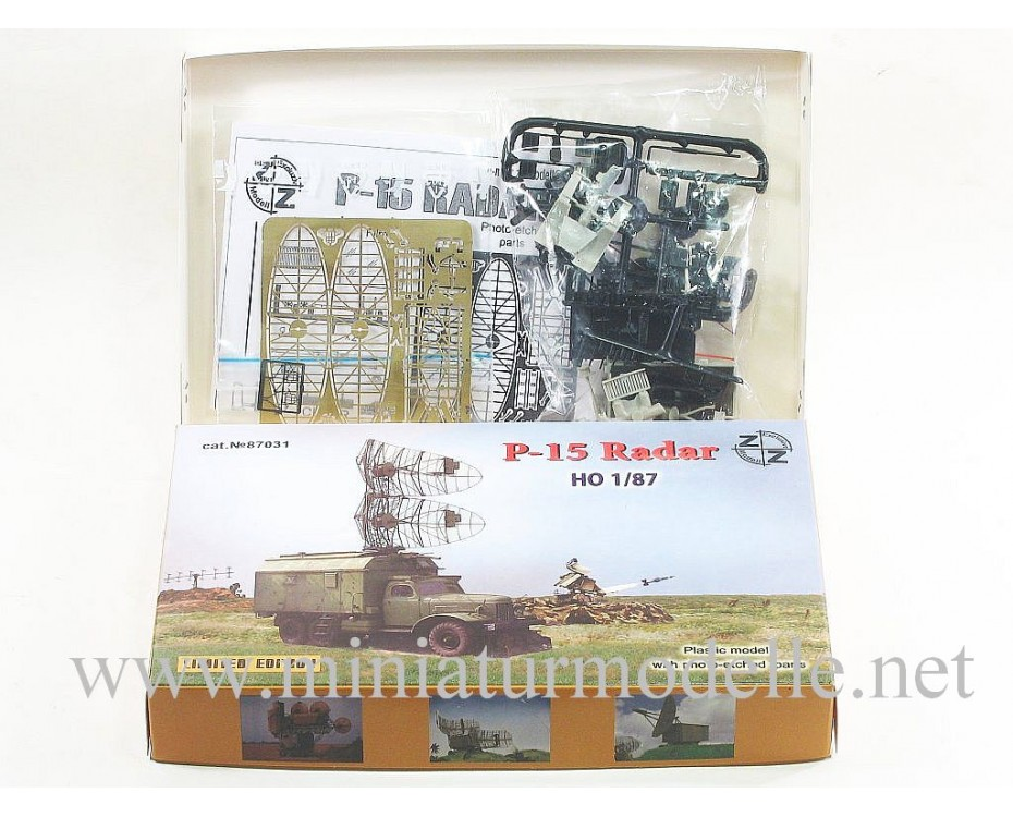 H0 1:87 ZIL 157 with radar P-15, military, small batches model