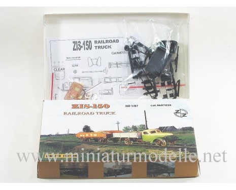 1:87 H0 ZIS 150 freight trolley without motor, small batches model