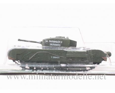 1:72 sKPz schwerer Kampfpanzer Churchill, Militär mit Zeitschrift #64