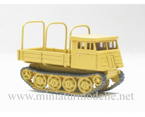H0 1:87 RSO Klöckner-Humboldt-Deutz open side with hoop tarps, military beige