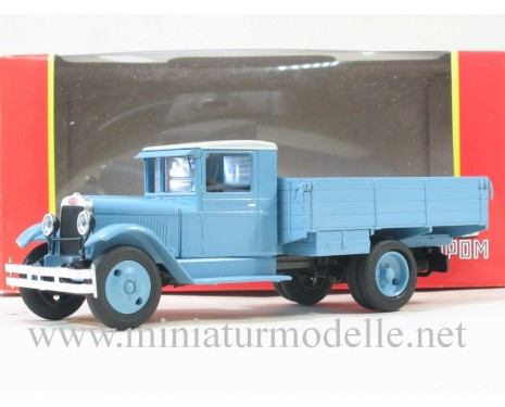 1:43 ZIS AMO-3 open side, blue
