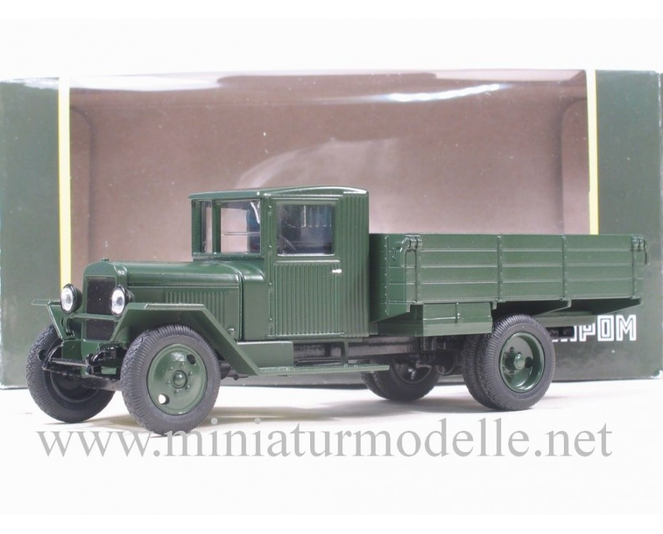1:43 ZIS 5 V open side, dark grenn military, H266, Nash Avtoprom by www.miniaturmodelle.net