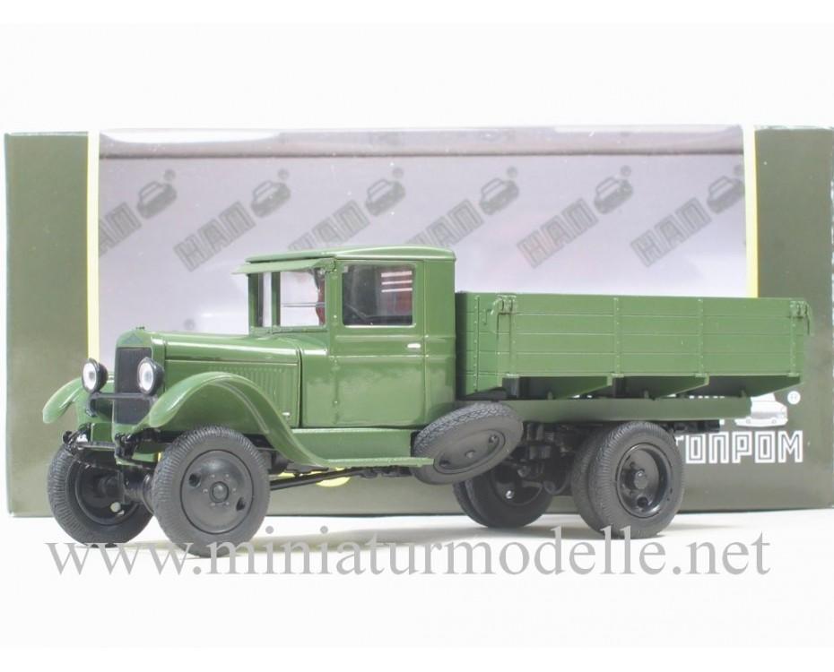 1:43 ZIS 32 4x4 open side, light grenn military, Н269, Nash Avtoprom by www.miniaturmodelle.net