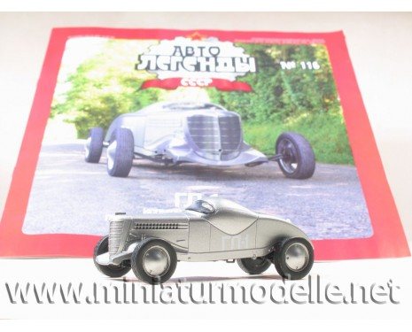 1:43 GL-1 sports car with magazine №62