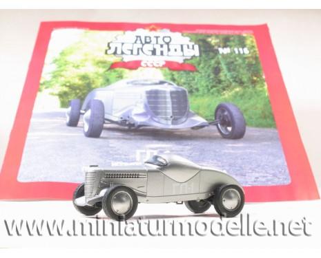 1:43 GL-1 Rennwagen mit Zeitschrift №62