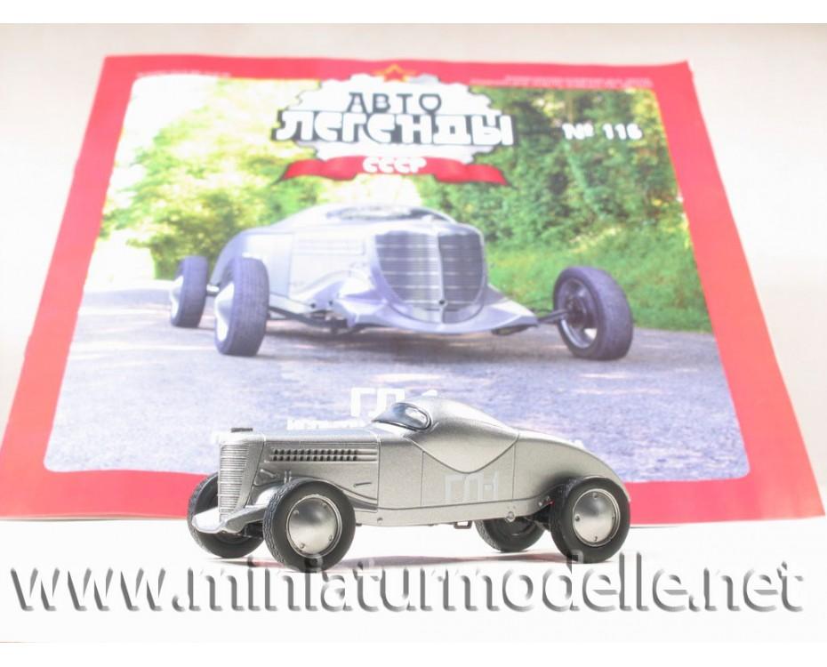 1:43 GL-1 sports car with magazine №62