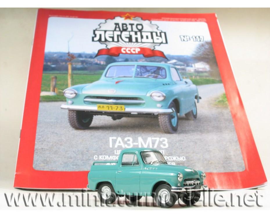 1:43 GAZ M73 Ukrainec mit Zeitschrift #82