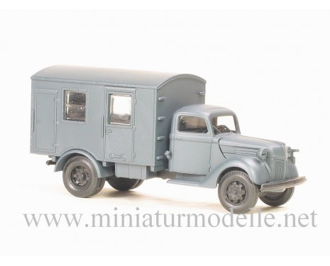 H0 1:87 Ford V 3000 closed side, military
