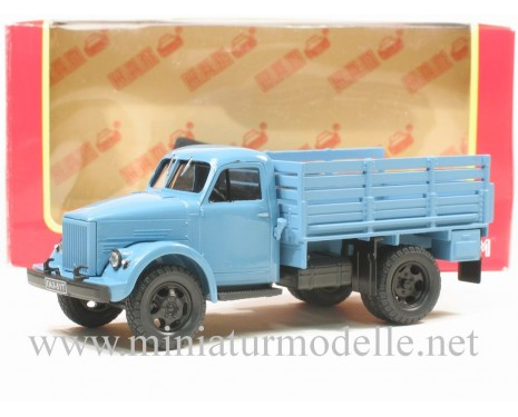 1:43 GAZ 51 T hight boody open side, blue