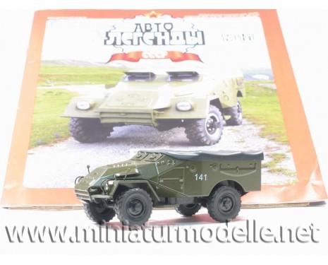 1:43 BTR SPW 40 Militär mit Zeitschrift #78
