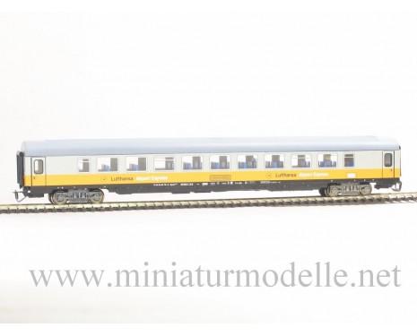 1:120 TT 7631 Grossraumwagen Lufthansa Airport Express DB, Typ Bpmz 291