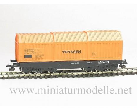 1:120 TT 3630 Blechrollentransportwagen Shis THYSSEN, 4 Epoche