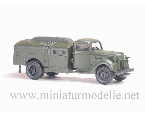 H0 1:87 Ford V 3000 fuel tank military green