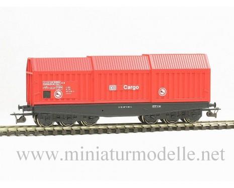 1:120 TT 3632 Blechrollentransportwagen Shis der DB Cargo, rot, 5 Epoche