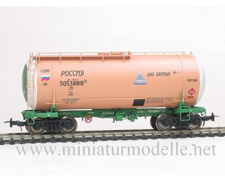 1:87 H0 Kesselwagen mod. 15-1447 BITRAN zum Transport von Benzin, RZD, 5. Epoche, Kleinserien