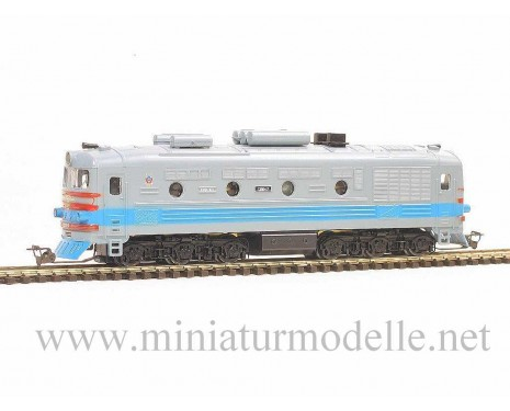 1:120 TT 1212 Diesel lokomotive class TEP 10 of the SZD, grau/blue livery, Ep. 4