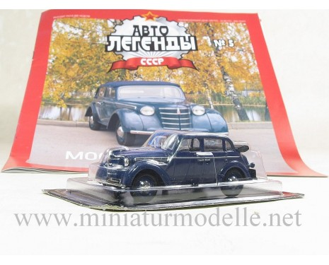 1:43 Moskvitch 400-420A with magazine #6
