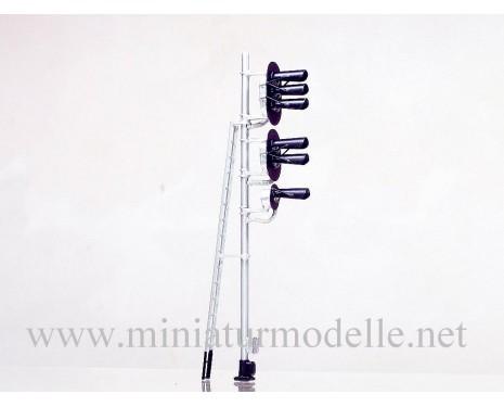 1:87 H0 5 Licht-Einfahrsignal (Typ 2+2+1)