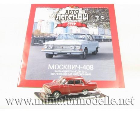 1:43 Moskwitsch 408 Zeitschrift #14