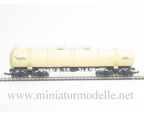 1:87 H0 8-Achsigen Kesselwagen mod. 15-1500 zum Transport von hell Erdolprodukte der SZD, 4. Epoche, Kleinserien
