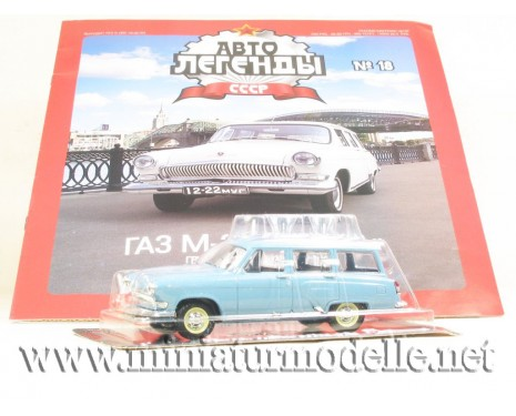 1:43 GAZ 22 Volga with magazine №59