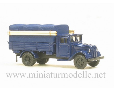 H0 1:87 Ford wood cab 3t canvas top, THW