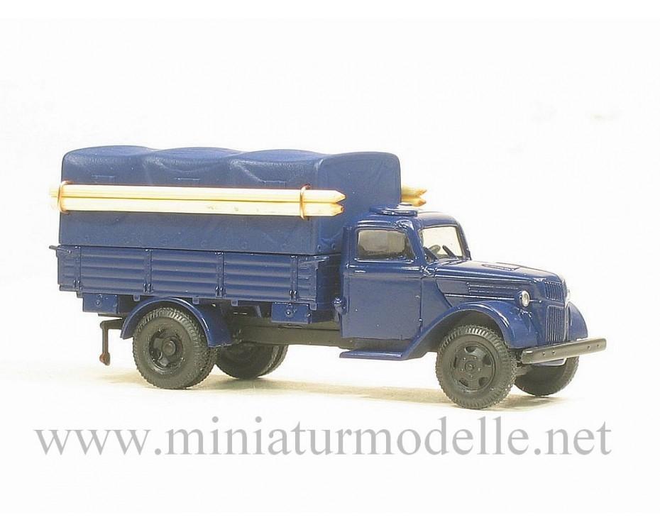 H0 1:87 Ford V 3000 Diesel Pritsche/ Plane, THW