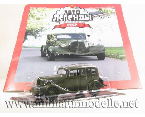 1:43 GAZ 11-73 military with magazine #19