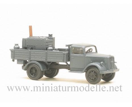 H0 1:87 Opel Blitz Pritsche- Feldkuche, Militär