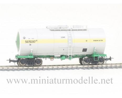 1:87 H0 Kesselwagen mit Behalterisolierung mod. 15-1534 zum Transport von Bitumen der SZD, 4. Epoche, Kleinserie