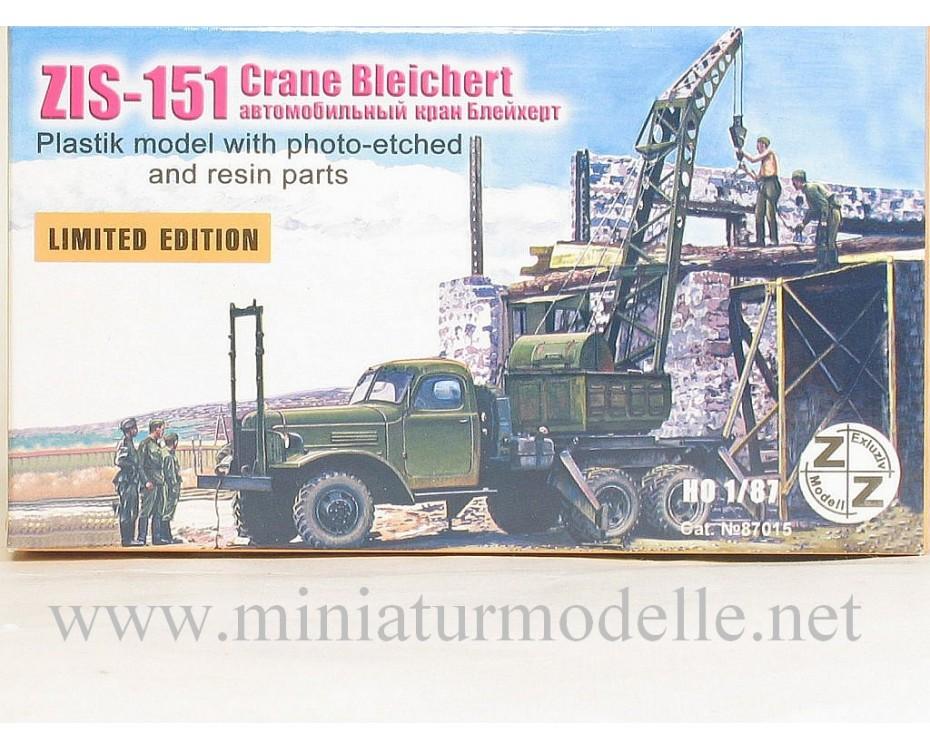 H0 1:87 ZIS 151 Mobilkran Bleichert, Militär, Kleinserien