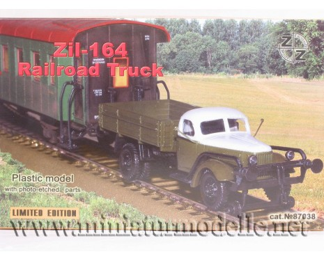 1:87 H0 ZIL 164 freight trolley without motor, small batches model