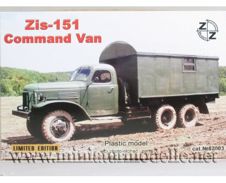 H0 1:87 ZIS 151 Command van, military