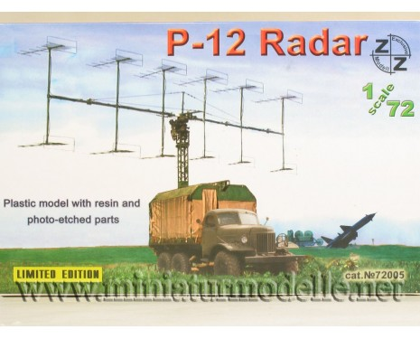 1:72 ZIL 157 with radar P-12, military, small batches model